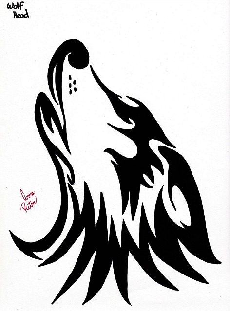 Anime Wolf Head Drawings How to Draw a w Wolf Head