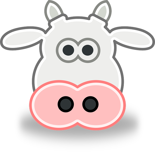 Cow Face Cartoon - ClipArt Best