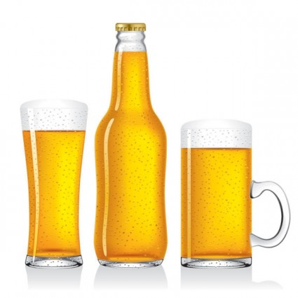 Free vector beer bottles Free vector for free download (about 14 ...