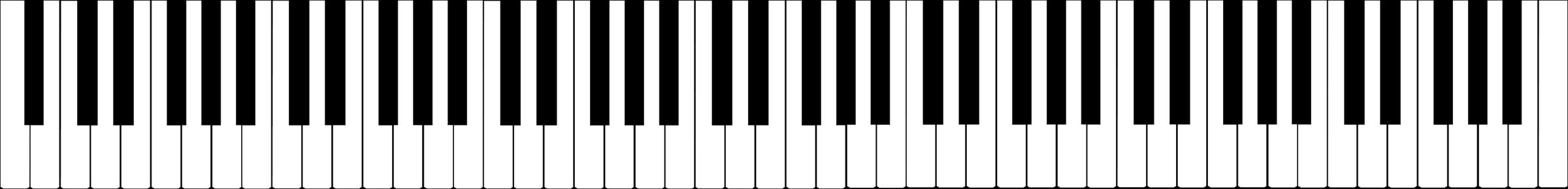 Piano Keyboard - ClipArt Best