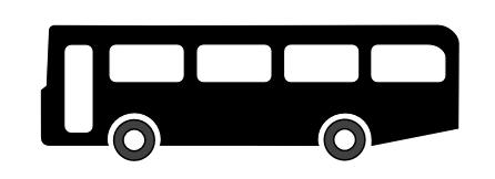 Black Bus Clipart