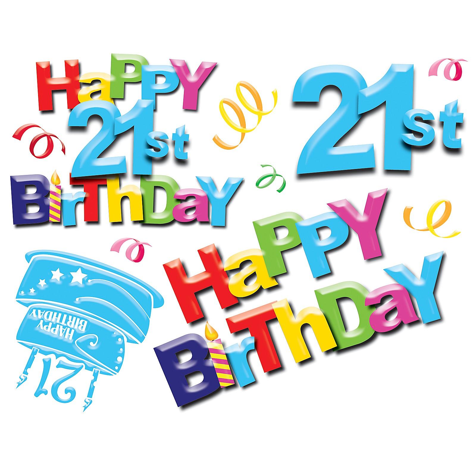 21st Birthday Clip Art - ClipArt Best