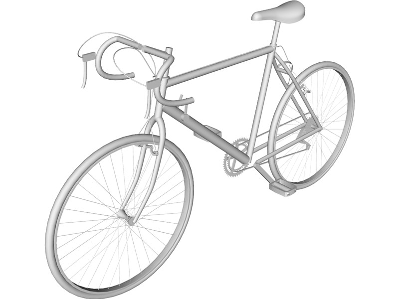 Line Drawing Bike : Bicycle line drawing clipart best