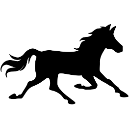 new silhouettes rubber duck  running horse  and more running horse clipart free running horse clip art gif