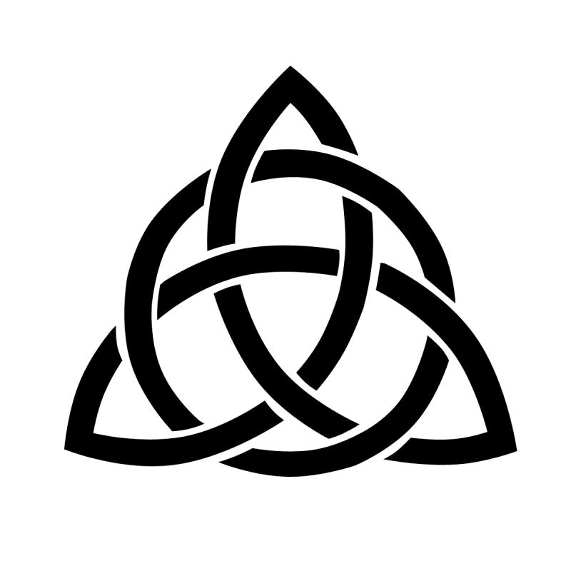 Celtic Triquetra Clipart Best