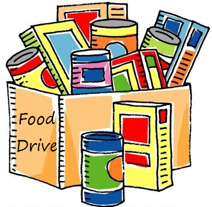 Pantry Food Drive Clipart