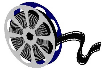 Movie Reel Logo Clipart - Free to use Clip Art Resource