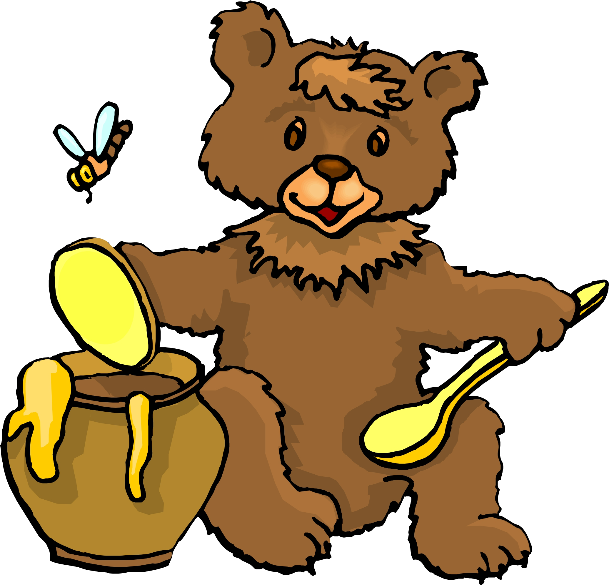 Cartoon Images Of Bears Clipart Best
