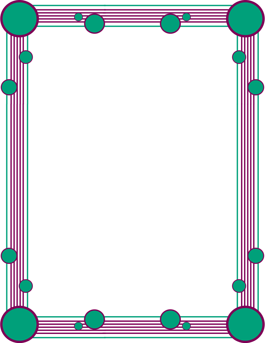 Hd Simple Colorful Frames And Borders - ClipArt Best