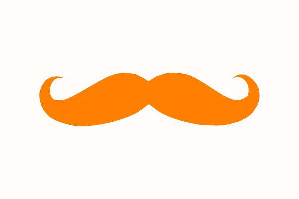 Fantastic Moustache Outline Clipart Best Hairstyles For Men Maxibearus