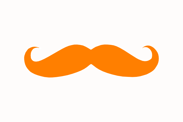 Brilliant Moustache Outline Clipart Best Hairstyle Inspiration Daily Dogsangcom