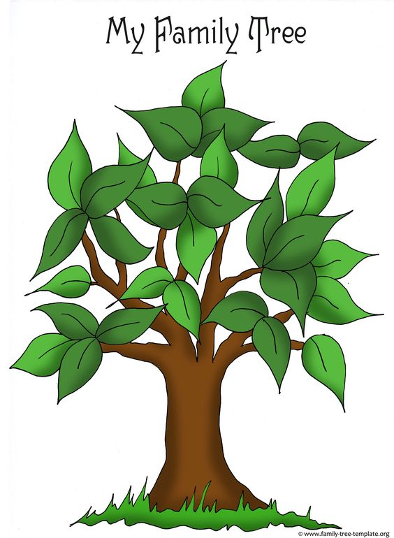 Family Tree Printable Clipart Best