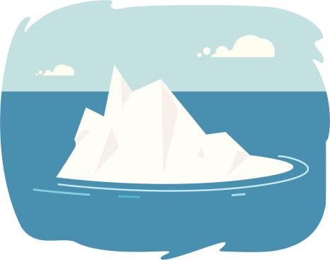 Iceberg Vector - ClipArt Best
