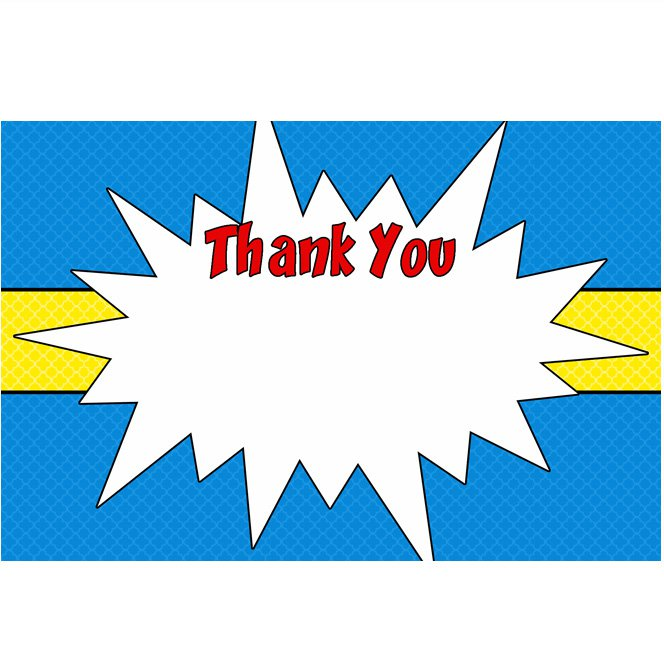 Clipart superhero thank you free - ClipArt Best - ClipArt Best