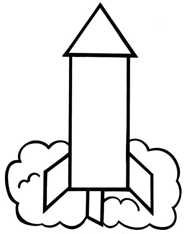 Rockets Line Drawing - ClipArt Best
