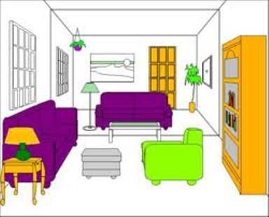 Floor plan clip art clipart best for Interior design video clips
