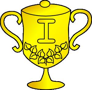 Trophy Award Cup clip art - vector clip art online, royalty free ...
