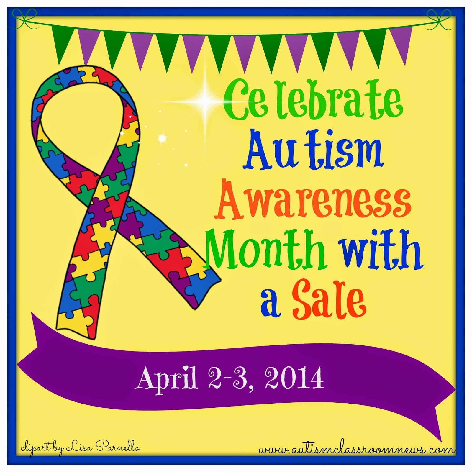 Autism Awareness Day 2014 - ClipArt - 319.5KB
