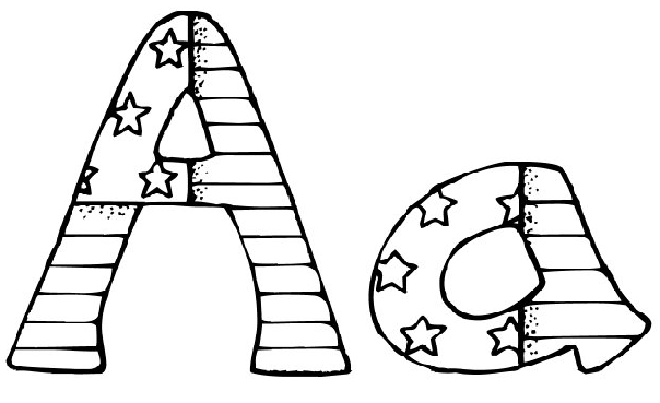 free printable alphabet coloring pages alphabet coloring sheets