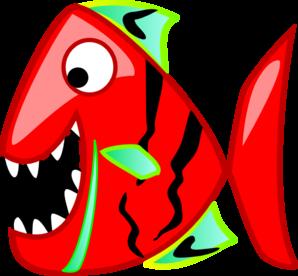 Red Fish clip art - vector clip art online, royalty free & public ...
