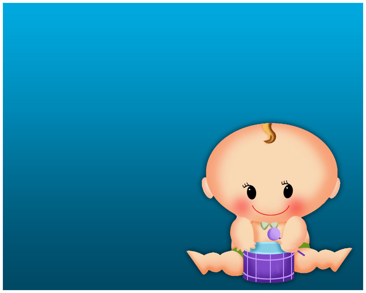 Free Infant PPT Template