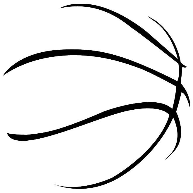 BASKETBALL JERSEY VECTOR OUTLINE - Download at Vectorportal - ClipArt ...