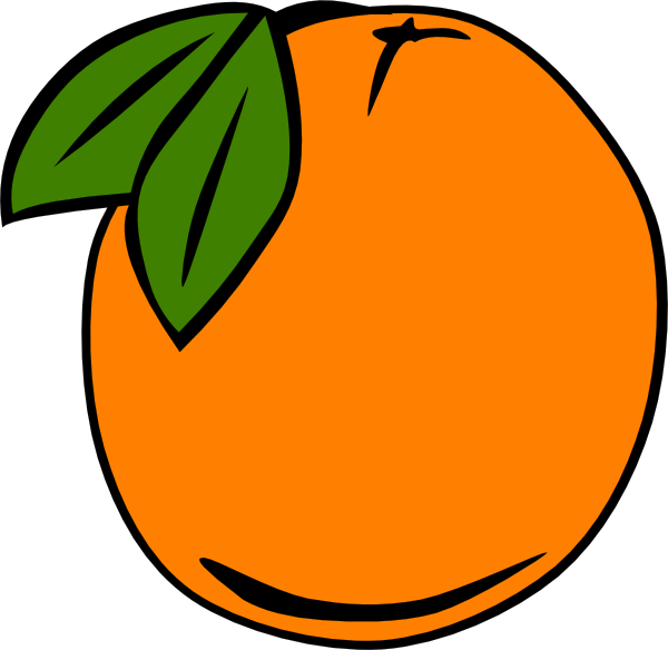 Cartoon Orange Tree - ClipArt Best