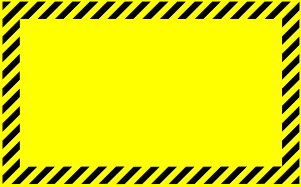 safety border clipart best warning sign clip art free warning sign clip art free