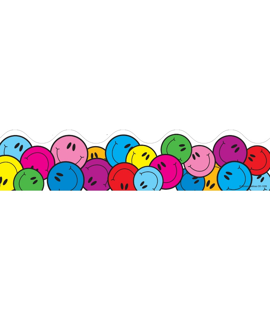 Straight Line Smiley Face Clip Art : Happy face border clipart best
