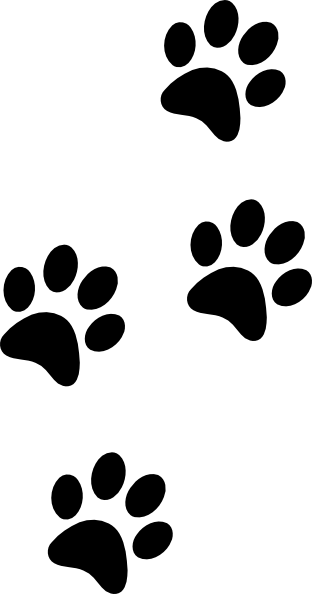 tiger tracks clip art - photo #16