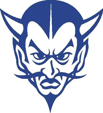 Blue Devil Free Clipart