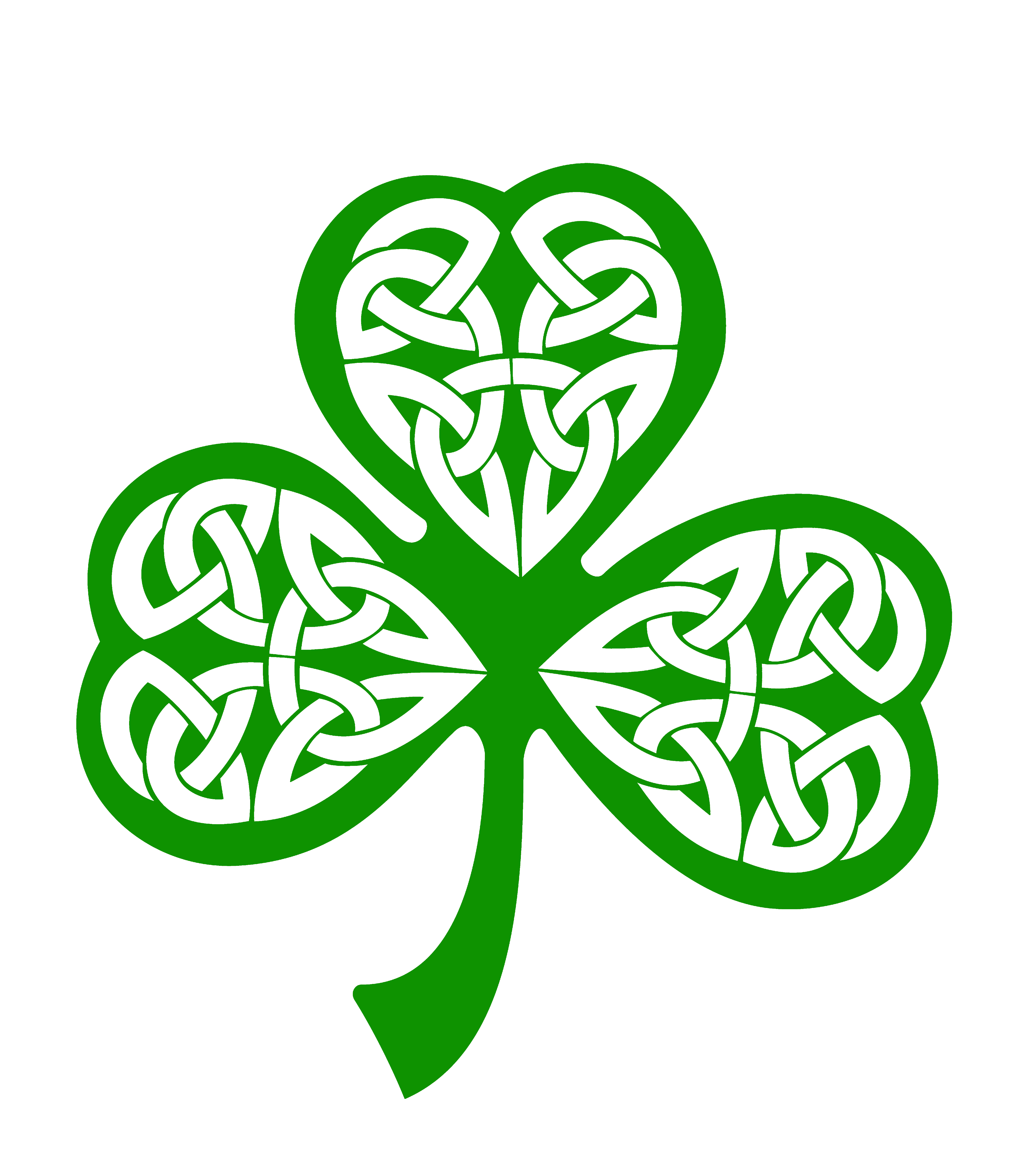 Celtic Shamrock Clip Art Pictures To Pin On Pinterest