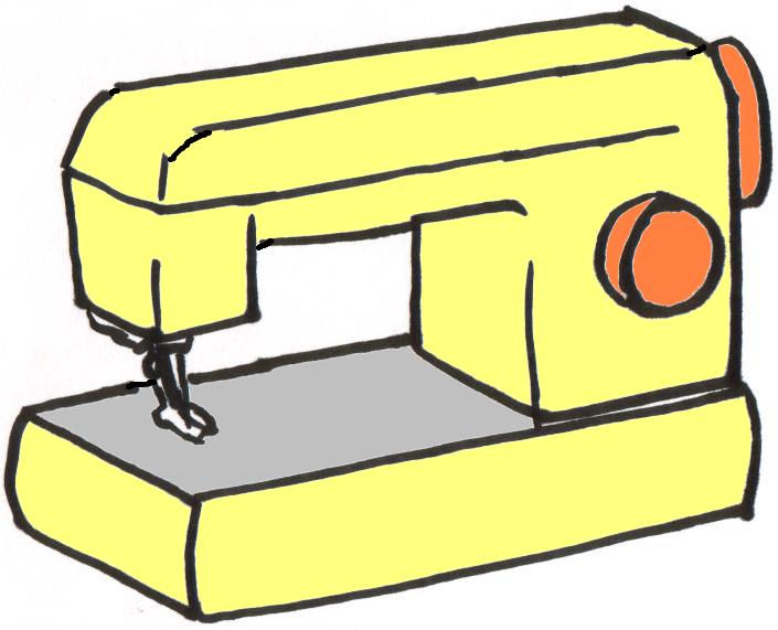 Sewing Machine Clipart Archives - Clip Art Pin