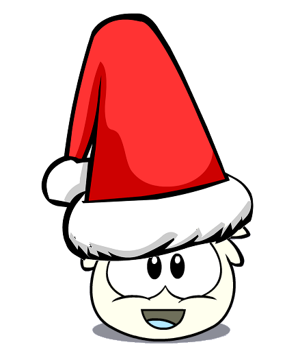 Image - Oversized Santa Hat.png - Club Penguin Wiki - The free ...