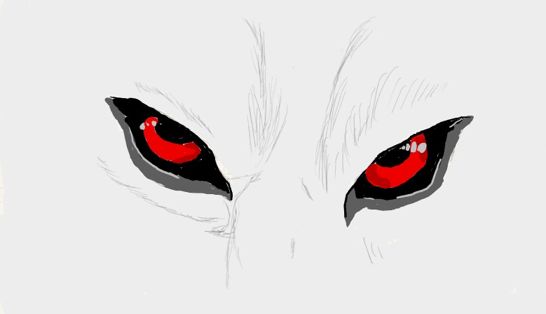 how to draw mad eyes