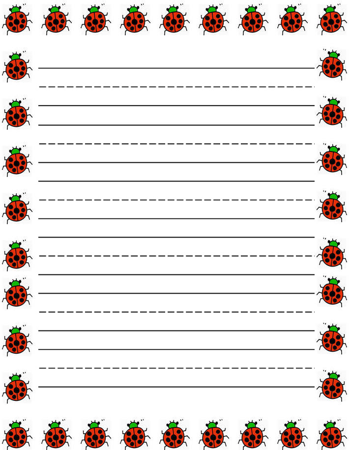 Border paper writing for Paper border