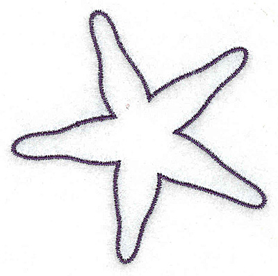 Star Fish Outline - ClipArt Best