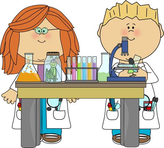 science clipart clip student cliparts scientist kid library doing laboratory math improvement clipartmag