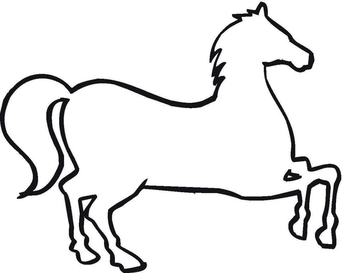 Out Line Drawing Of Animals : Animal outlines clipart best