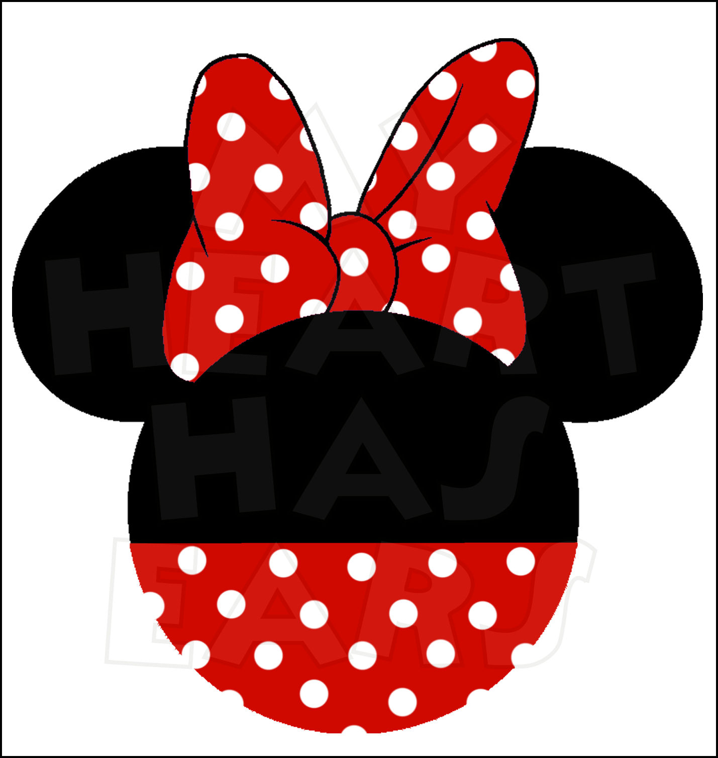 Minnie Mouse Bow Silhouette - ClipArt Best