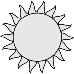 Summer Sun Clip Art Black And White - ClipArt Best