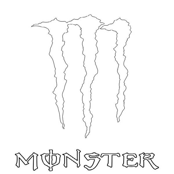 Dibujos Para Calcar De Monster Energy | apexwallpapers.com