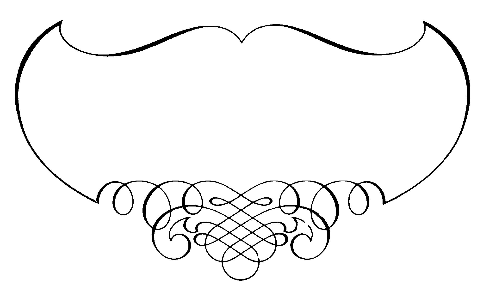 Simple calligraphy designs clipart best