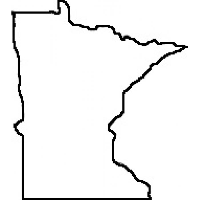 Teacher State of Minnesota Outline for onesie   Baby Shower Ideas ...