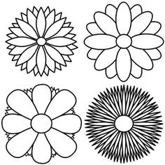 How To Draw Flowers Step By Step For Beginners - ClipArt Best