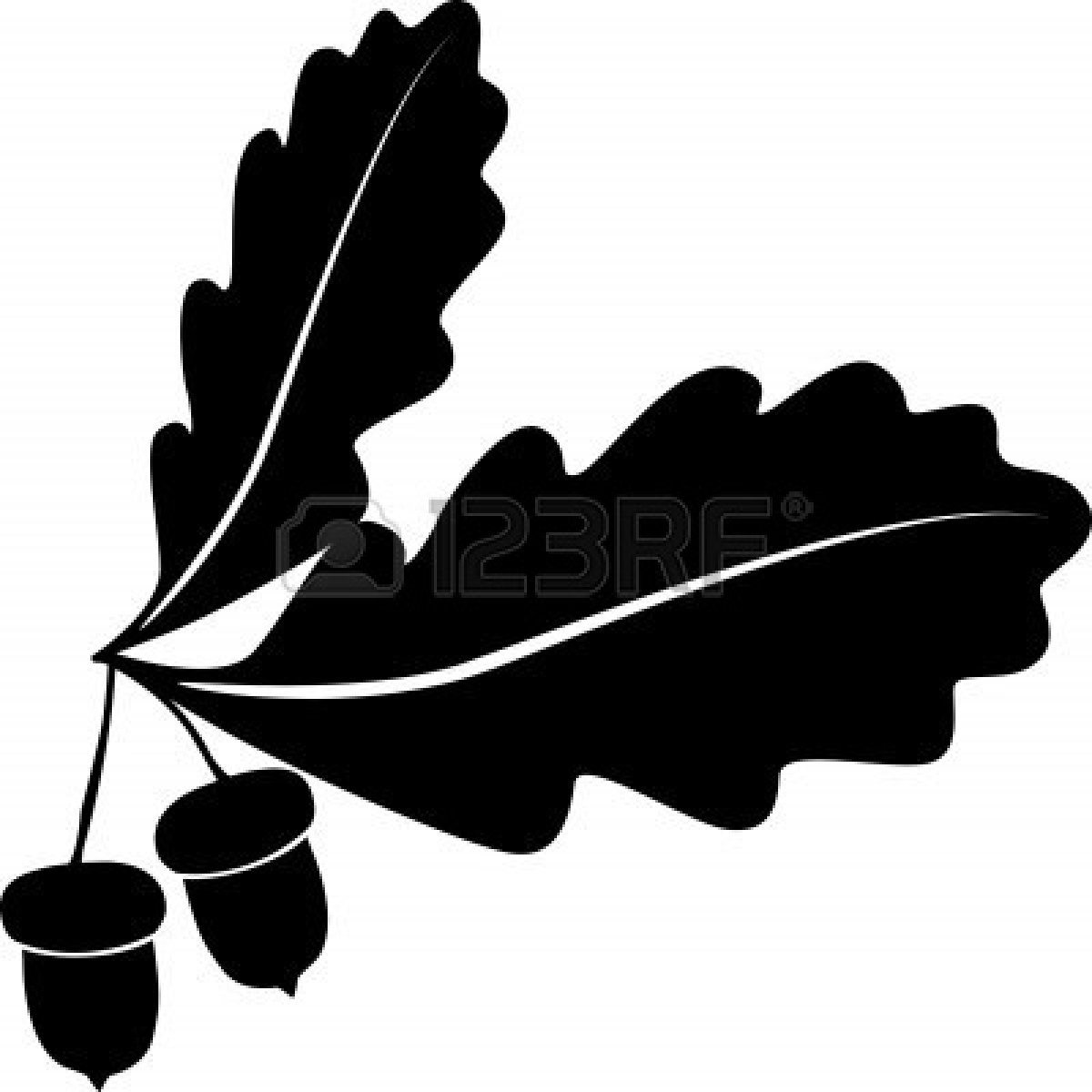 Oak Leaf Vector - ClipArt Best
