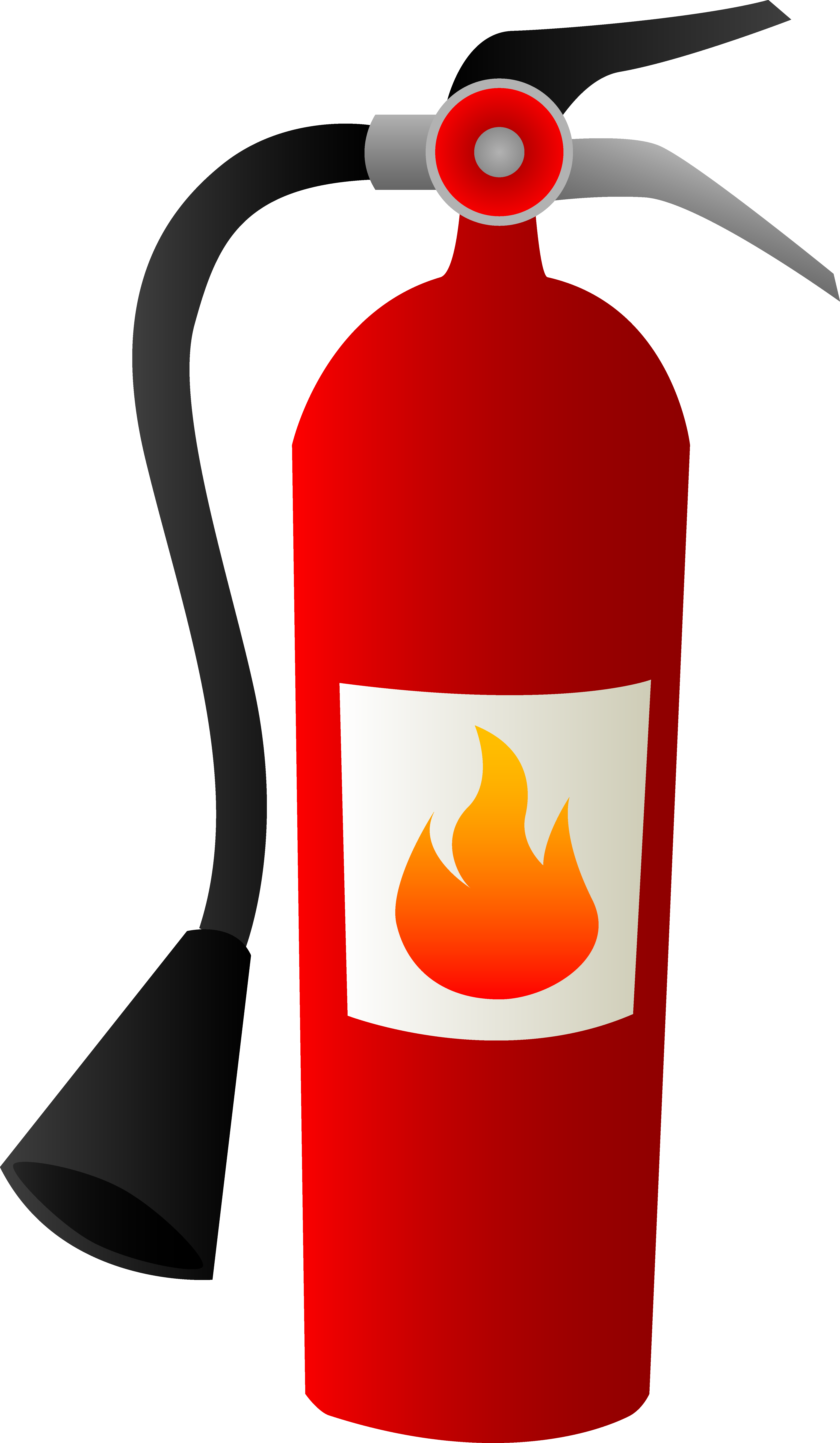 Cute Fire Extinguisher Clipart - Free Clipart Images