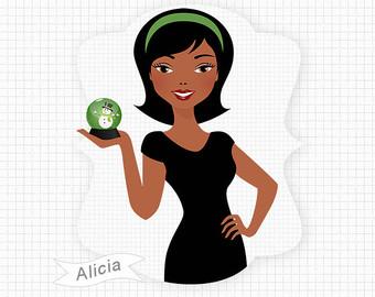 African American Women Clipart - ClipArt Best