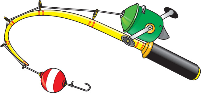 Kids Fishing Pole Clip Art - ClipArt Best