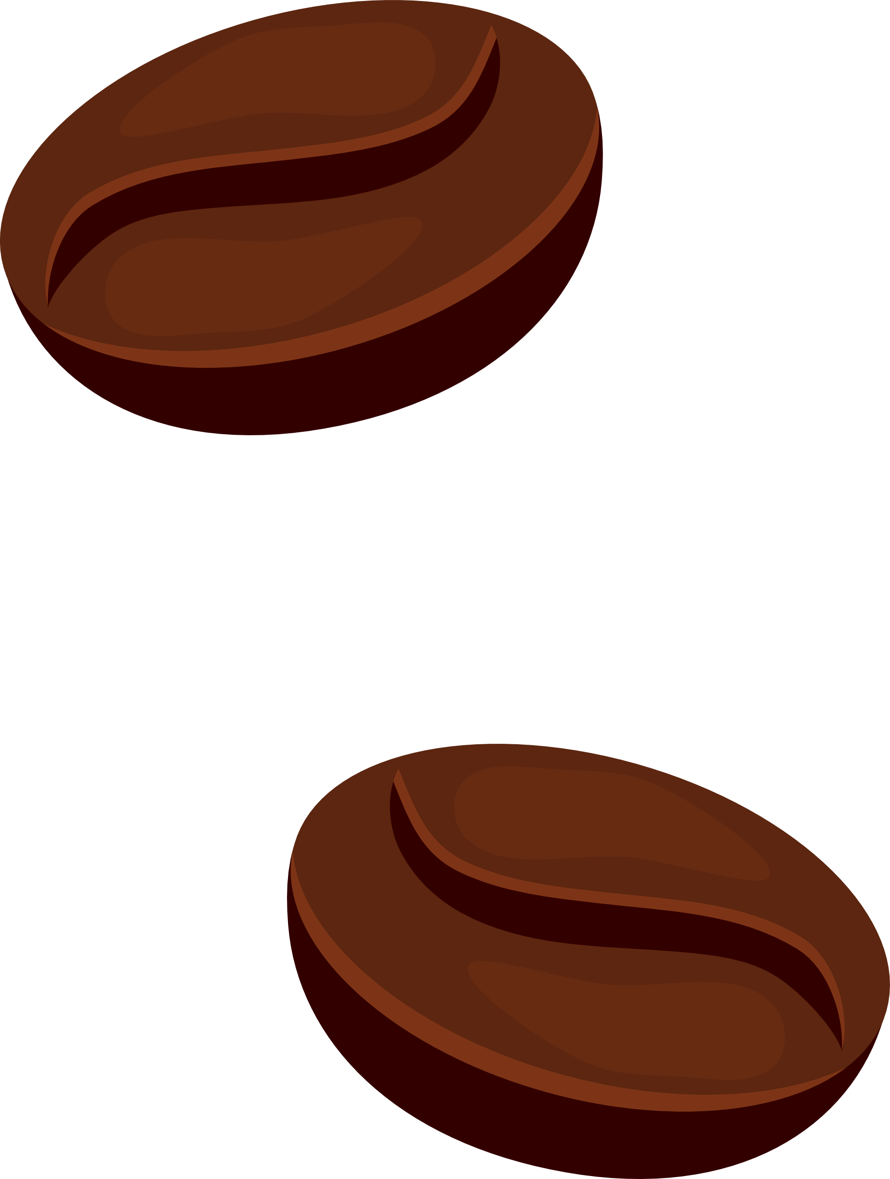 Clipart Of Coffee Bean